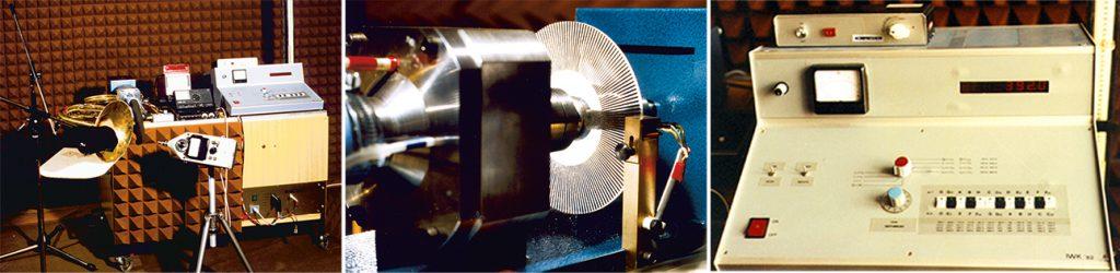 Künstlicher Bläser - Rotor mit Lochsirene - elektronische Steuerung